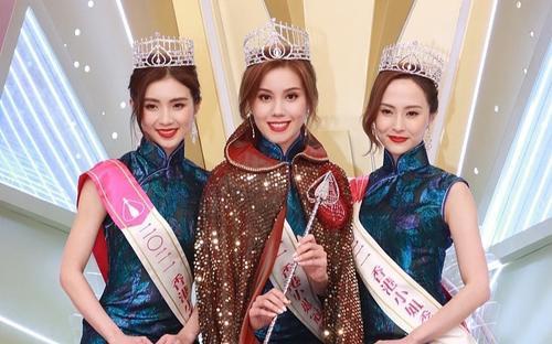 Sau bao mùa thi thố, lâu lắm rồi mới có 1 tân Hoa hậu Hong Kong được khen xinh