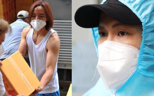 Việt Hương xúc động vì ông xã bị thương ở chân nhưng vẫn nén cơn đau để cùng mình làm thiện nguyện
