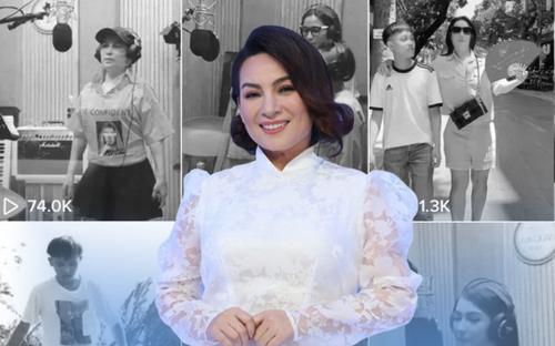 Phải chăng đây là sân khấu hot nhất của Phi Nhung trên Tik Tok khi thu hút gần 2 triệu view?