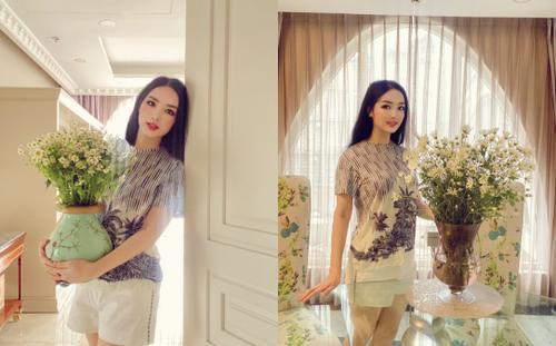 Hoa hậu Giáng My khiến dân tình ganh tỵ nhan sắc trẻ đẹp ở tuổi U50