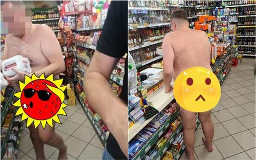 Thản nhiên khỏa thân vào siêu thị mua bia, danh tính của người đàn ông khiến dư luận bất ngờ