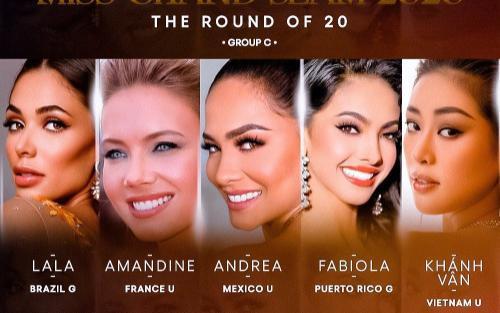 Để có mặt tại Top 8 Miss Grand Slam: Khánh Vân phải hạ gục 4 đối thủ cực gắt này, áp lực quá lớn?