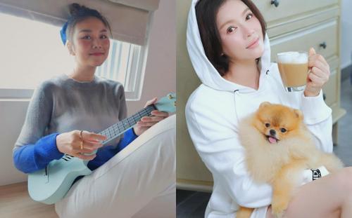 Lý Nhã Kỳ, siêu mẫu Thanh Hằng 'cưa sừng làm nghé' với style trẻ trung như thiếu nữ