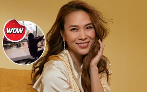 Đang hát bài hit của Mỹ Tâm, fan bất ngờ khi được chính chủ 'ghé thăm' trong sự ngỡ ngàng