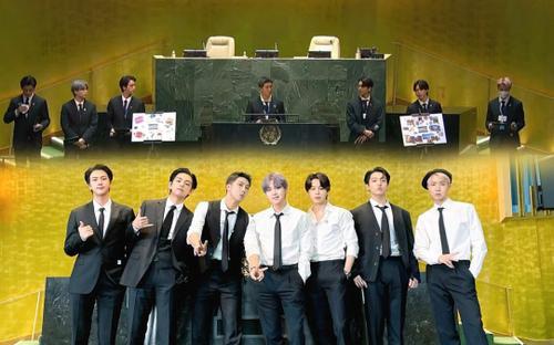 BTS chính thức xuất hiện tại Liên Hợp Quốc, vinh dự được Tổng thư kí nhắc đến trong bài phát biểu