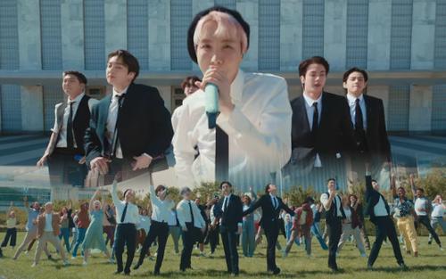 Ấn tượng trước màn trình diễn cực hoành tráng của BTS ngay tại trụ sở Liên Hợp Quốc