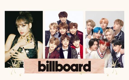Lisa (BlackPink) và ATEEZ lần đầu góp mặt tại Billboard, BTS kiên trì trụ hạng