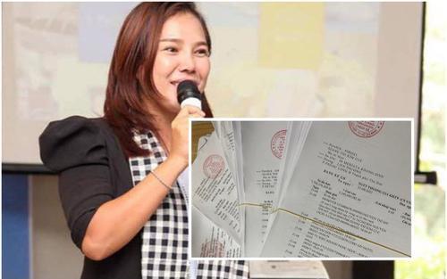 Giang Kim Cúc tung xấp sao kê gần 2,5 triệu tiền giấy in, khẳng định minh bạch tiền từ thiện không khó