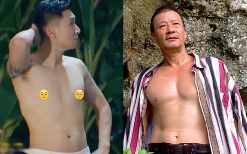 'Con rể' Mạnh Trường 'Hương vị tình thân' lép vế khi đọ body cùng bố vợ Võ Hoài Nam