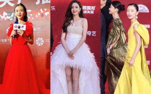 Dàn mỹ nhân Cbiz khoe nhan sắc thật ở thảm đỏ LHP Bắc Kinh: AngelaBaby và Đồng Lệ Á 'đọ' visual đỉnh cao