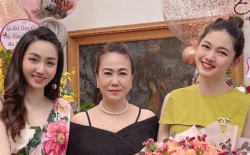 Chị em Á hậu Ngô Trà My - Thanh Tú lại khiến fan rần rần vì màn đọ sắc một chín một mười