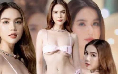 Ngọc Trinh tiếp tục làm 'nổ mắt fan' với loạt đồ bơi 'hư hỏng'