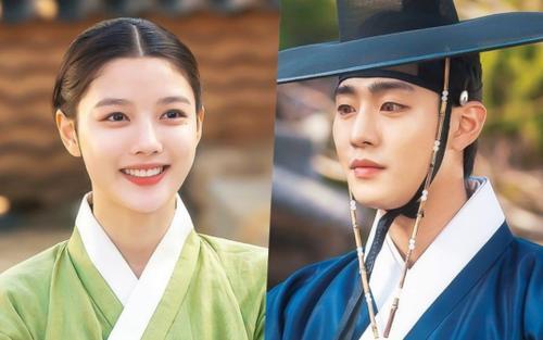 'Bầu trời rực đỏ' tập 7: Kim Yoo Jung và Ahn Hyo Seop vừa hôn đã nỡ đoạn tình xa cách