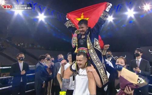 NÓNG: Võ sĩ Thu Nhi giành đai WBO thế giới sau chiến thắng lịch sử!