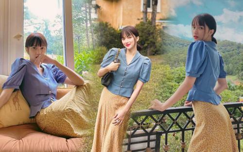 Hương Giang khoe sắc 'tuổi 20' với ekip hùng hậu: 'Design' có tâm Hoà Minzy, photo có tầm Đức Phúc