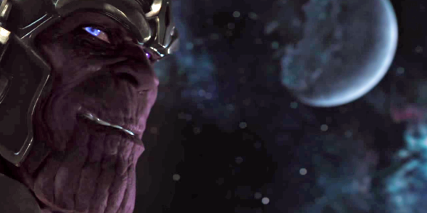 Thanos trong đoạn after-credit của The Avengers