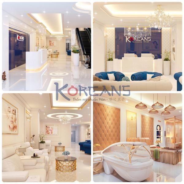 Không gian đẳng cấp 5 sao thiết kế đạt tiêu chuẩn của Bệnh viện hàng đầu Hàn Quốc và Đông Nam Á.