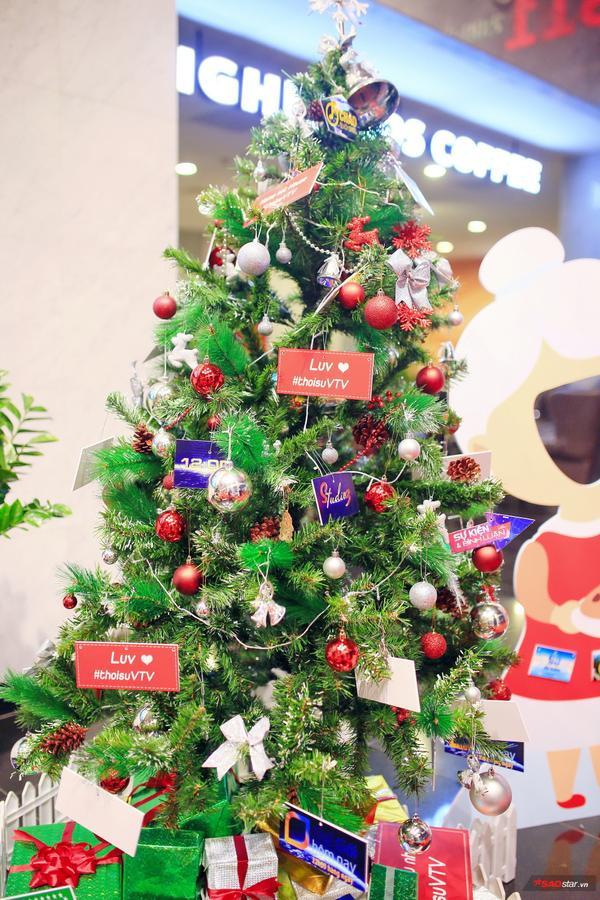 Thiết kế cây thông Noel của ban thời sự