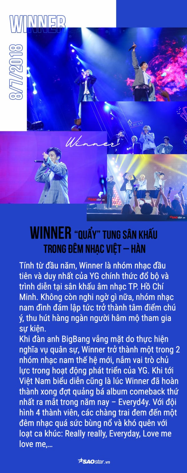 Loạt sao Kpop tỏa sáng trên sân khấu Việt Nam suốt năm qua: Idol nhà ai đỉnh nhất? (P.1)