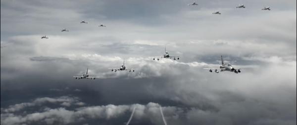 Những hình ảnh đầu tiên về bức tranh hào hùng của không chiến Việt Nam qua trailer Những cánh én đầu tiên