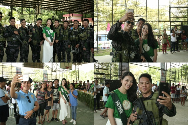 Thí sinh Việt Nam được người Philippines nhận ra và đặc biệt yêu thích.