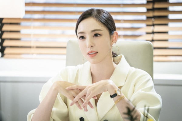 "Lee Da Hee attended the collaboration with Im Soo Jung - Jang Ki Yong in Drama ""WWW"""