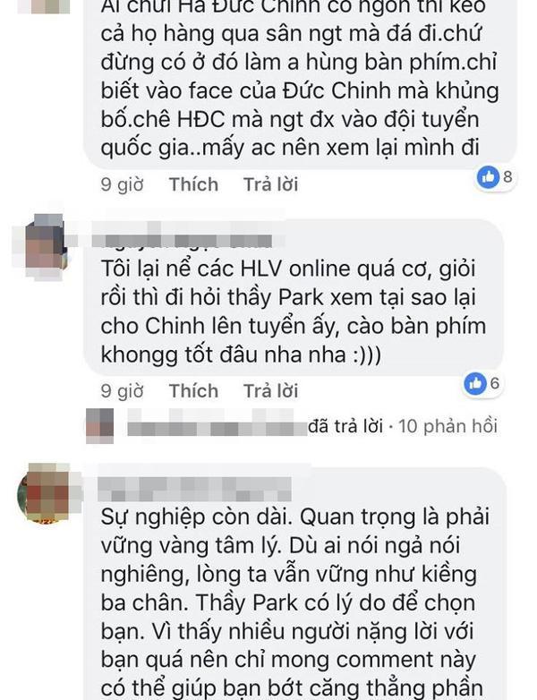 Tức giận vì thua đáng tiếc trước Iraq, CĐV quá khích kéo nhau vào tấn công facebook Đức Chinh và Văn Lâm
