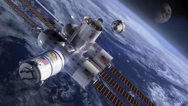 Chiêm ngưỡng khách sạn cao cấp đầu tiên trong không gian - Ảnh 3.