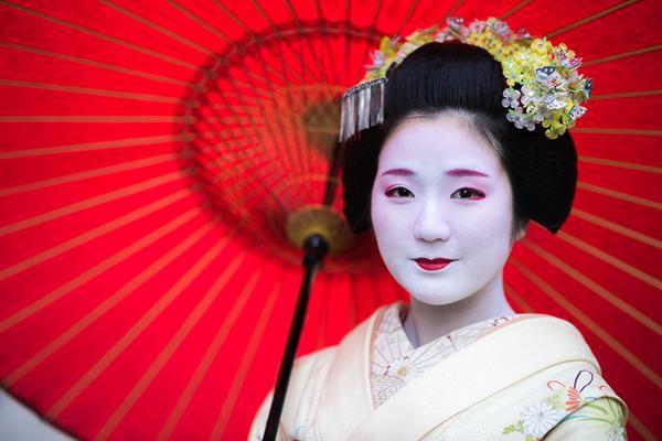 Geisha Nhật Bản.