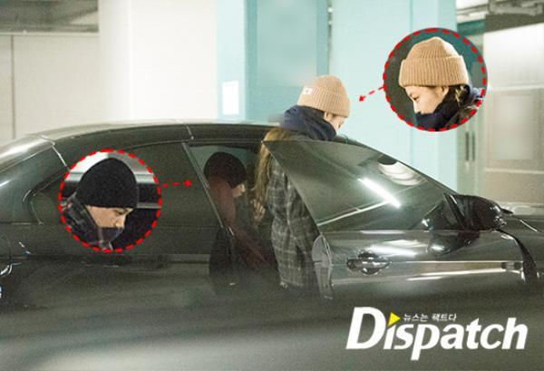 Dispatch tung ảnh hẹn hò của Kai và Jennie ngày 1/1 năm nay.