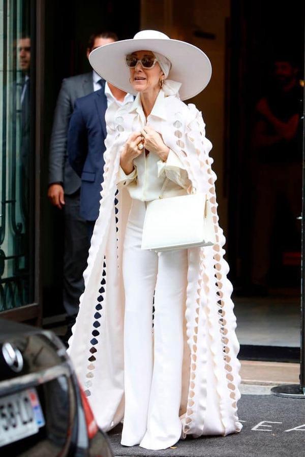 Hình ảnh gần đây của Celine Dion.