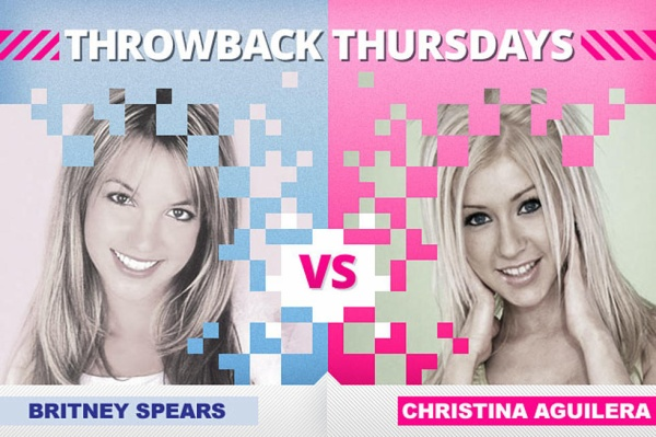 Suốt thập niên 00s, Britney Spears và Christina Aguilera đã đấu chọi nhau không ngừng cho ngai vị Công chúa nhạc Pop.