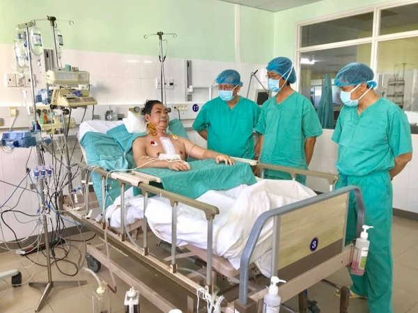 Bệnh nhân được ghép tạng đã dần hồi phục.