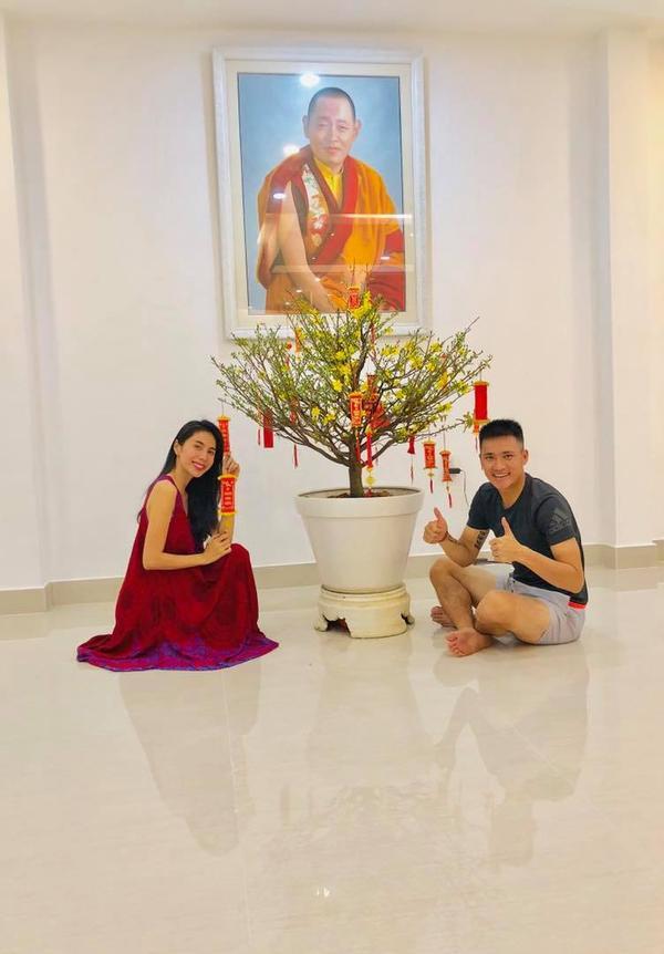 """Tổ ấm của Công Vinh - Thủy Tiên là một trong những """"tấm gương"""" kiểu mẫu của showbiz Việt."""