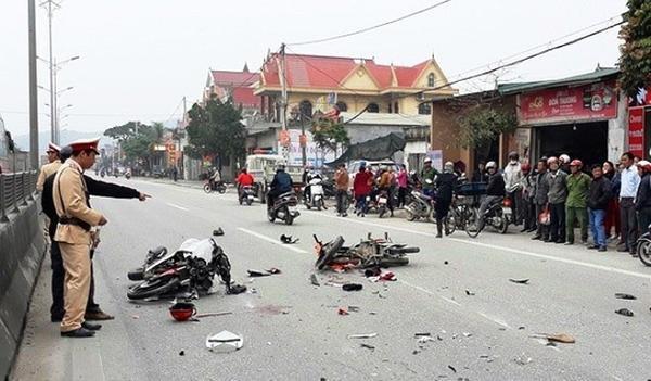 Tai nạn giao thông diễn biến phức tạp trong những ngày nghỉ Tết. Ảnh: Infornet