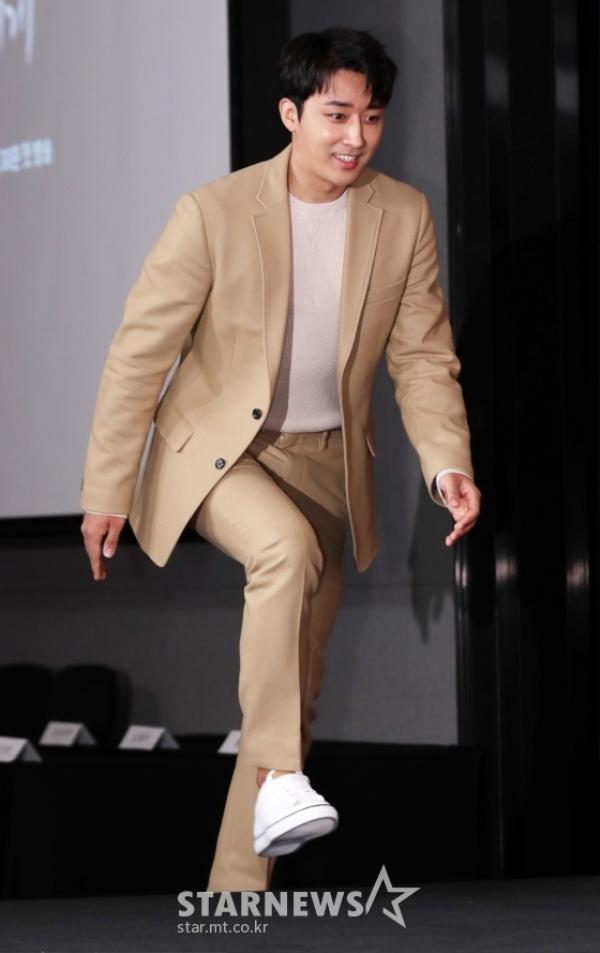 Son Ho Joon tươi tắn.