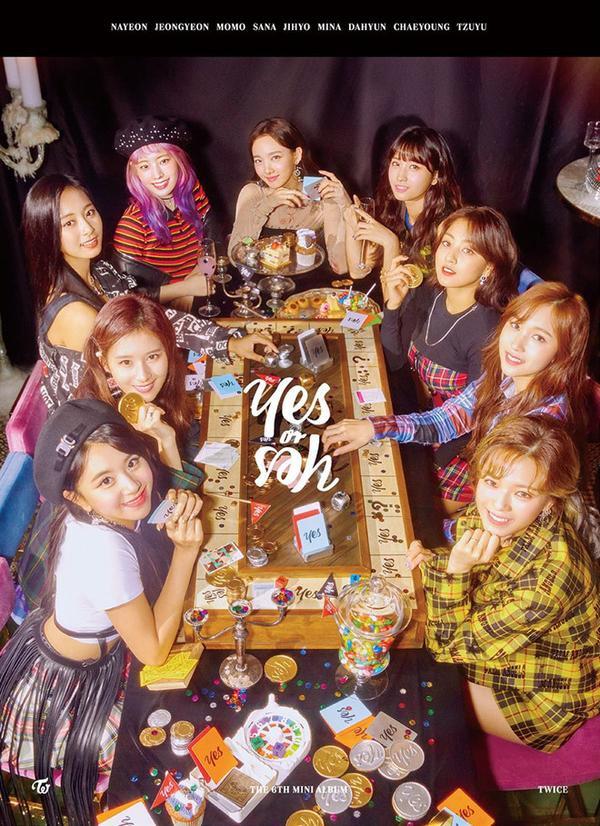 Yes or Yes - album mới nhất của TWICE tính đến thời điểm hiện tại.