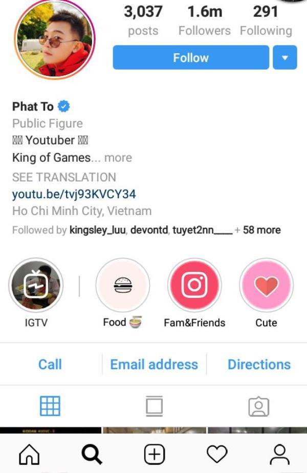 Đội ngũ sao Việt sở hữu tài khoản Instagram triệu follow không kém cạnh sao quốc tế