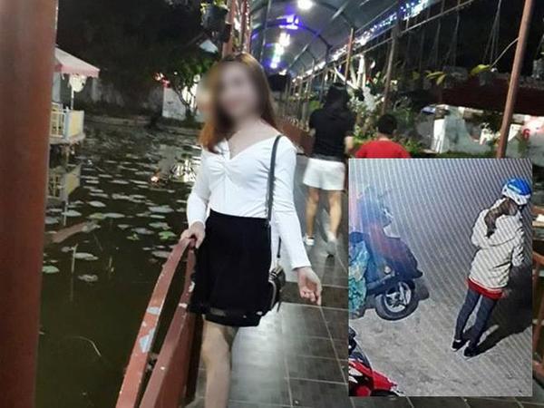 Hình ảnh nữ sinh trước khi bị s.át hại.