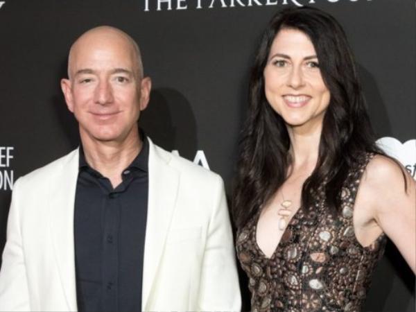 Nếu tài sản được chia đôi, bàMacKenzie sẽ trở thành người phụ nữ giàu nhất hành tinh.