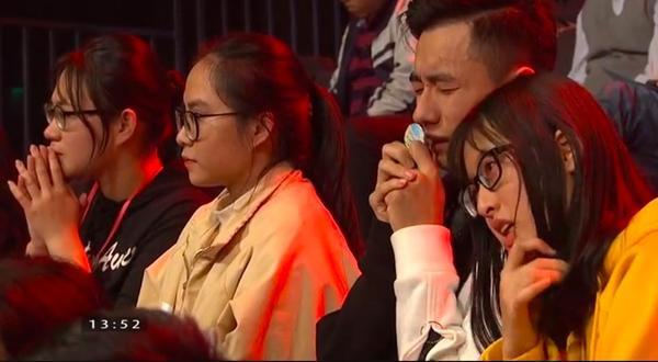 Nhiều cổ động viên tỏ ra tiếc nuối trước phần thi của Xuân Phương
