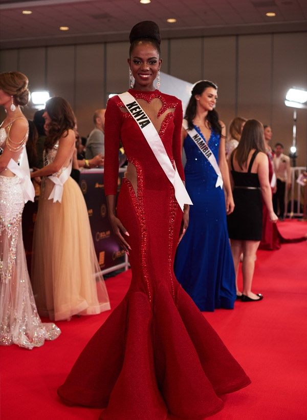 Mary Esther Were - top 6 Miss Universe 2016.