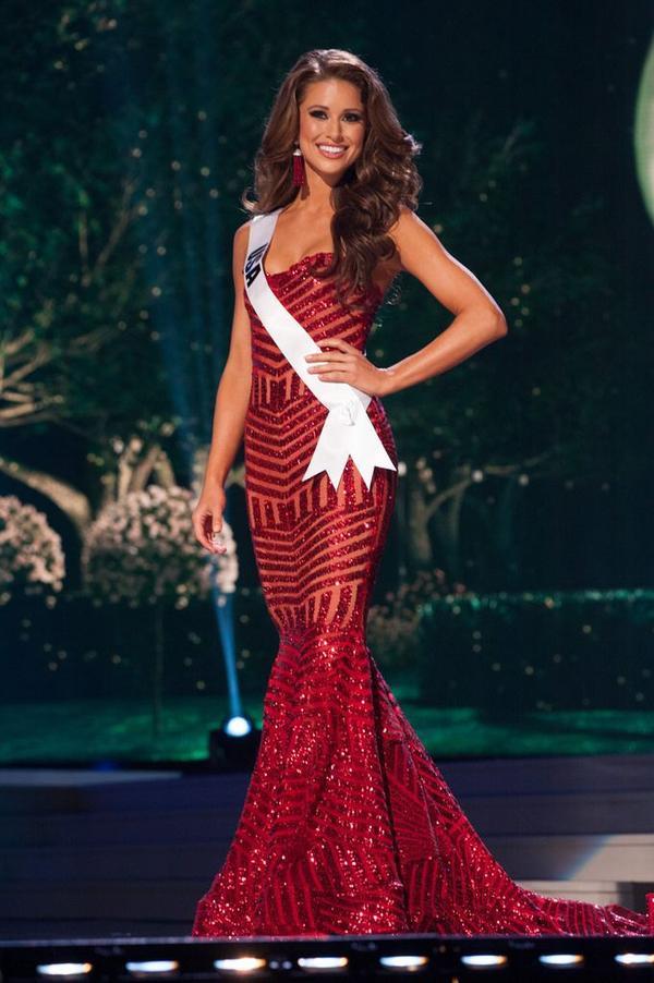 Á hậu 1 - Miss Universe 2014 người Mỹ -Nia Sanchez.