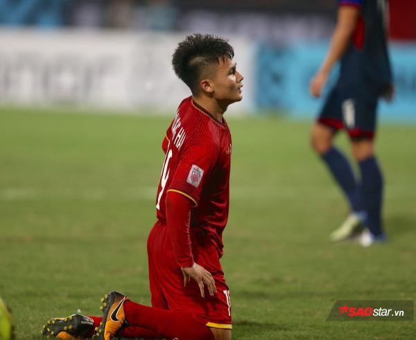 Quang Hải làm đội trưởng U23 Việt Nam ở vòng loại U23 châu Á 2020.