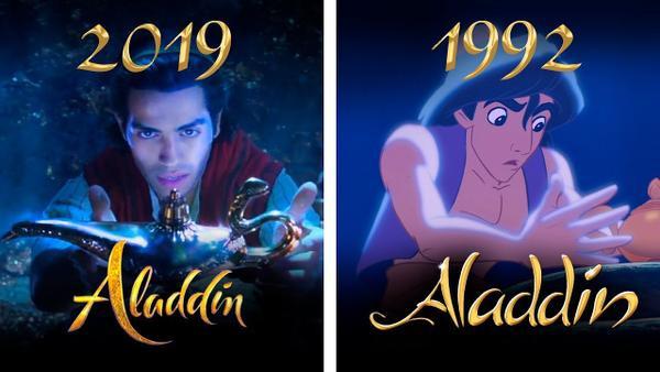Aladdin cũng được Disney chuyển thể từ nguyên tác truyện tranh.
