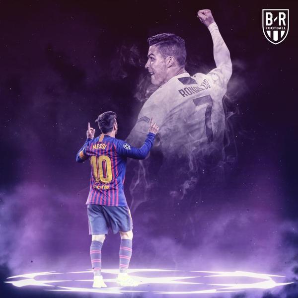 Messi cũng cho thấy mình không hề kém cạnh gì Ronaldo.