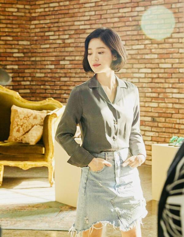 Song Hye Kyo tiếp tục gây thương nhớ với bộ ảnh mới thực hiện cùng thương hiệu giày sử dụng trong 'Encounter'