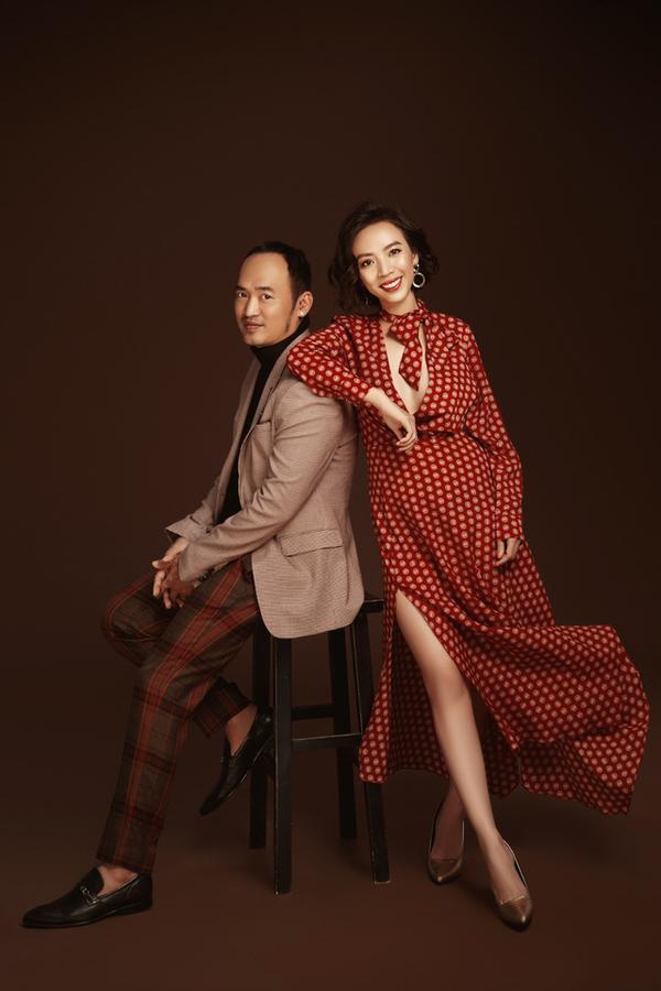 """Thu Trang - Tiến Luật là một trong những """"cặp đôi vàng"""" của showbiz Việt không chỉ bởi gia đình hạnh phúc mà còn ở việc luôn sát cánh giúp đỡ đối phương """"thăng hoa"""" trong sự nghiệp."""