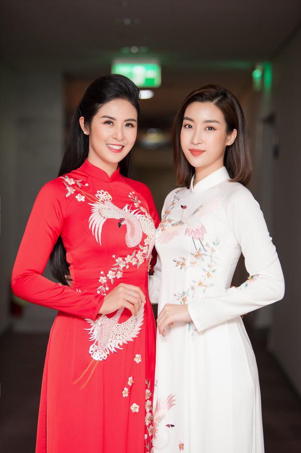 Đỗ Mỹ Linh và Ngọc Hân là hai chị em thân thiết