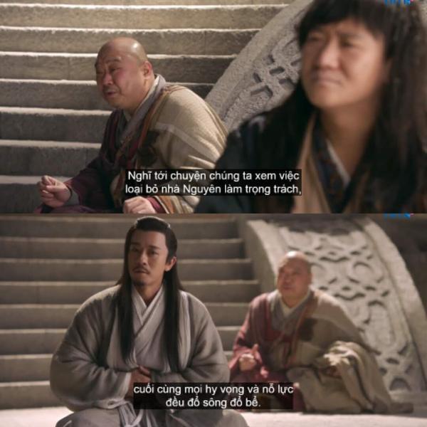 Bố đại Hòa thượng tưởng Minh giáo tới lúc tận diệt, không khỏi đau lòng khi nghĩ tới cảnh quốc gia bị xâm lược